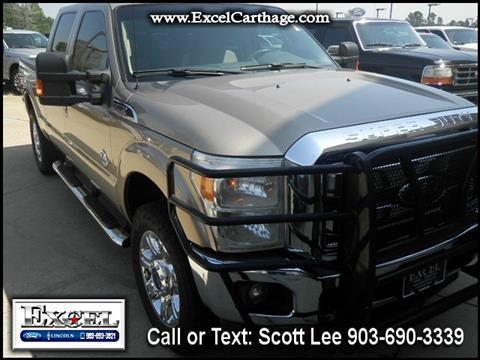 2012 Ford F-250 Super Duty for sale in Carthage TX