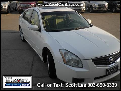 2007 Nissan Maxima for sale in Carthage TX