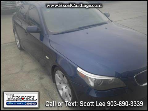 2004 BMW 5 Series for sale in Carthage TX