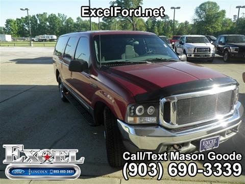 Ford Excursion For Sale In Carthage Tx