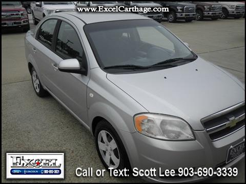 2008 Chevrolet Aveo for sale in Carthage TX