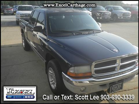 2001 Dodge Dakota for sale in Carthage TX
