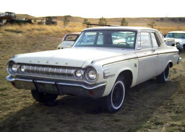 1964 Dodge 440 2 Door Sedan