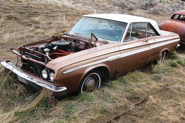 1964 Plymouth Fury  2 Door HardTop