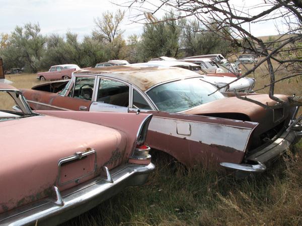 1957 Chrysler Windsor 4 DR. Sedan - Stevensville MT