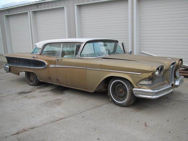 1958 Edsel Corsair 4 Door HardTop