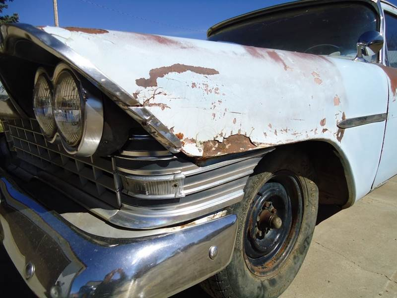 1959 Plymouth Savoy Business Coupe - Stevensville MT