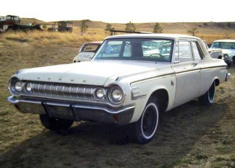 1964 Dodge 440 2 Door Sedan MAX WEDGE