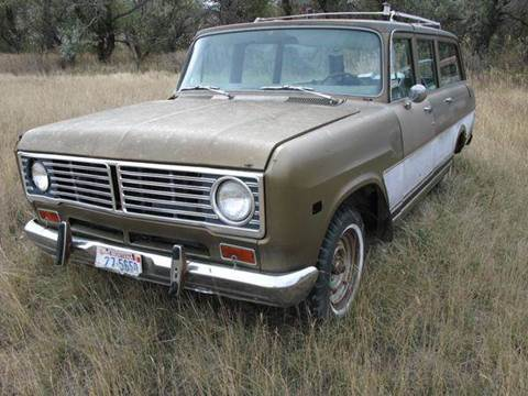 1974 International Travelall 4 Door