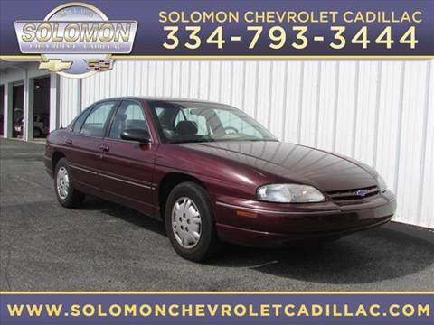 2001 chevrolet lumina for sale for Solomon motor company dothan alabama