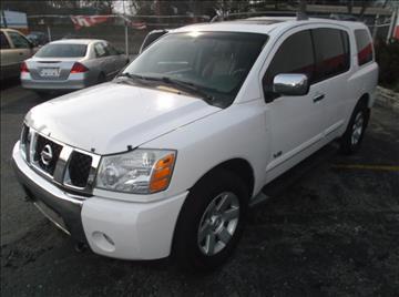 2005 Nissan Armada for sale in Pontiac, MI