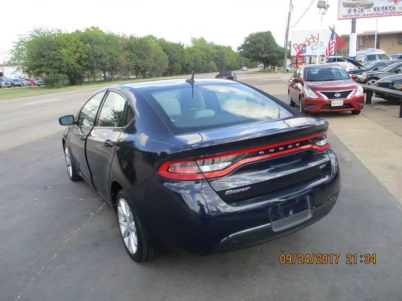 2013 Dodge Dart Rallye 4dr Sedan In Houston TX  Auto Nations Finance