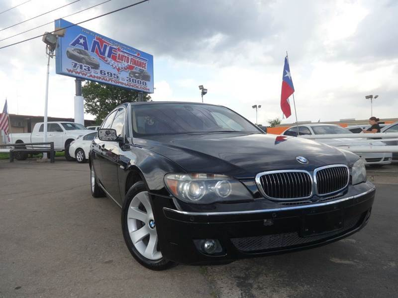 Cargurus Houston Cheap Cars For Sale In Houston: Used BMW 7 Series For Sale Houston, TX