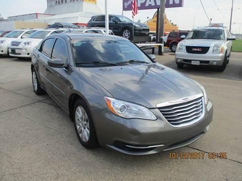 2012 Chrysler 200 for sale in Houston, TX