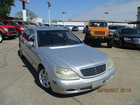 2001 Mercedes-Benz S-Class for sale in Houston, TX