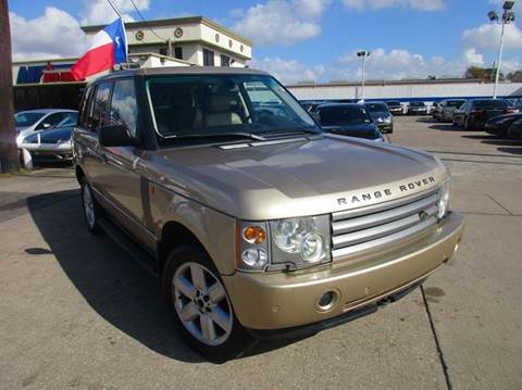 2004 Land Rover Range Rover for sale in Houston, TX
