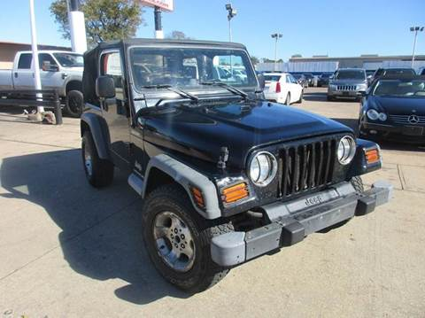 2003 jeep wrangler for sale texas for Trophy motors new braunfels