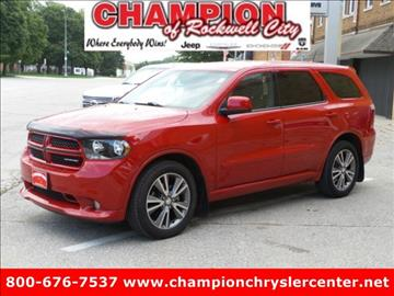 2013 Dodge Durango for sale in Rockwell City, IA