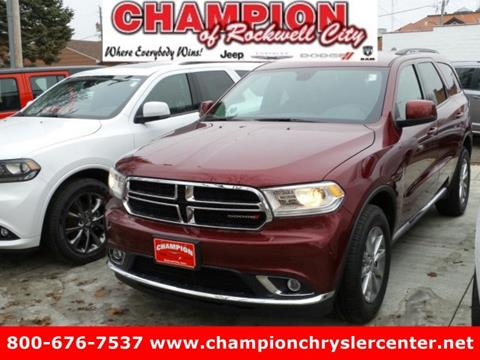 2017 Dodge Durango for sale in Rockwell City, IA
