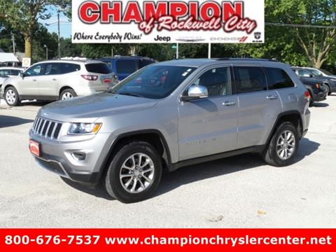 2014 Jeep Grand Cherokee for sale in Rockwell City, IA
