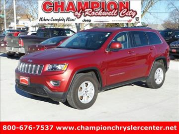 2015 Jeep Grand Cherokee for sale in Rockwell City, IA