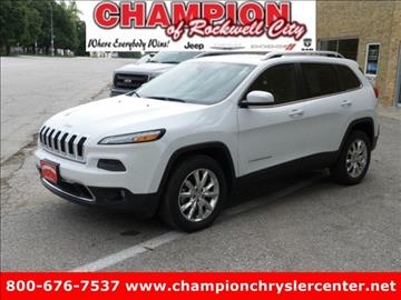 2014 Jeep Cherokee for sale in Rockwell City, IA