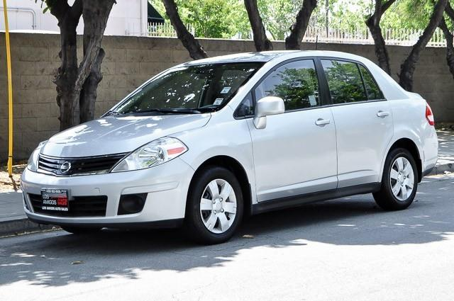 2010 NISSAN VERSA 18 S 4DR SEDAN 4A silver we finance everybody having trouble financing a car