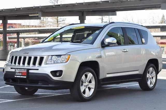2011 JEEP COMPASS LATITUDE 4X2 4DR SUV silver los amigos auto sales has a wide selection of except