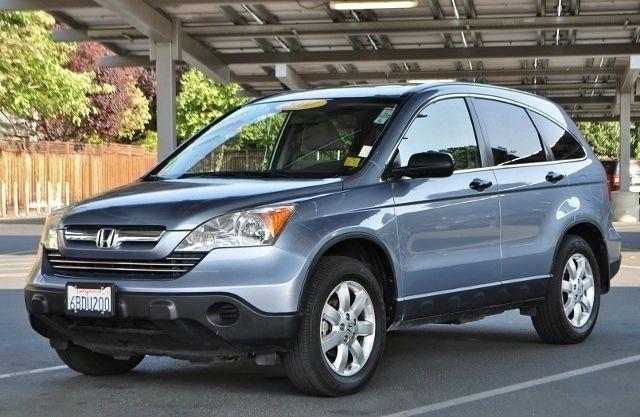 2007 HONDA CR-V EX AWD 4DR SUV blue we finance everybody  having trouble financing a car we gu