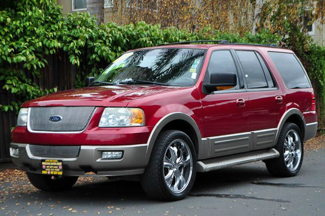 2004 FORD EXPEDITION EDDIE BAUER 4DR SUV red we finance everybody  having trouble financing a ca