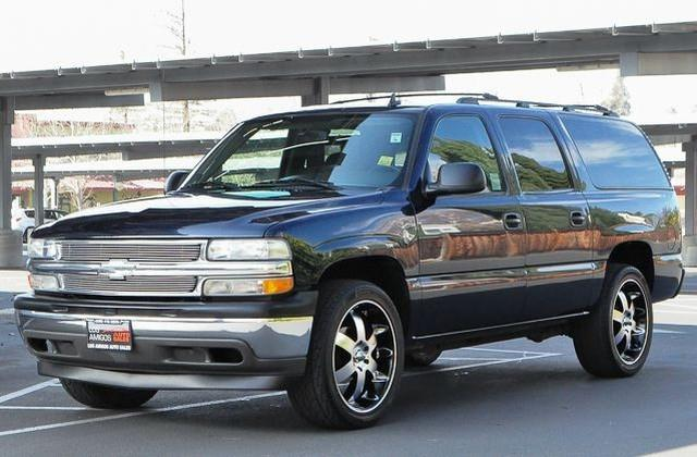 2006 CHEVROLET SUBURBAN LS blue check out this gently-used 2006 chevrolet suburban we recently got