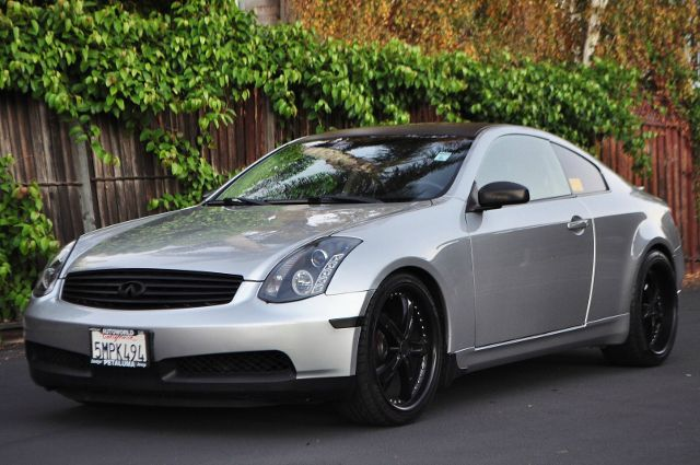 2004 INFINITI G35 BASE RWD 2DR COUPE WLEATHER gray we finance everybody  having trouble financi