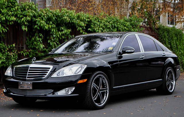 2007 MERCEDES-BENZ S-CLASS S550 4DR SEDAN black we finance everybody  having trouble financing a