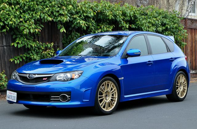 2010 SUBARU IMPREZA WRX STI AWD 4DR WAGON blue we finance everybody  having trouble financing a