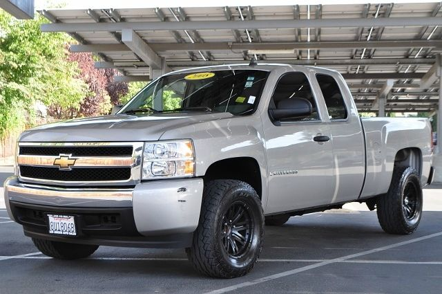 2008 CHEVROLET SILVERADO 1500 LT1 2WD 4DR EXTENDED CAB 58 FT gold we finance everybody  having