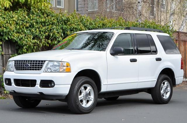 2005 FORD EXPLORER XLT 4WD 4DR SUV oxford white we finance everybody having trouble financing a