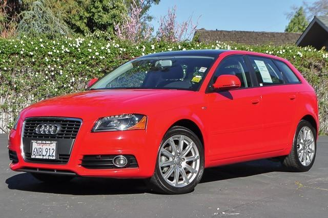 2010 AUDI A3 20 TDI PREMIUM PLUS 4DR WAGON brilliant red this 2010 audi a3 20 tdi premium plus i