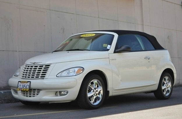 2005 CHRYSLER PT CRUISER TOURING CONVERTIBLE white we finance everybody  having trouble financin