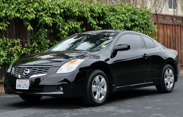 2008 NISSAN ALTIMA 25 S 2DR COUPE CVT black we finance everybody  having trouble financing a ca