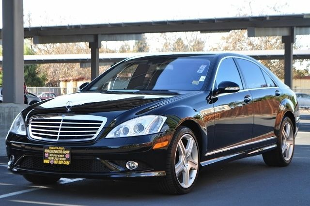 2008 MERCEDES-BENZ S-CLASS S550 4DR SEDAN black we finance everybody  having trouble financing a