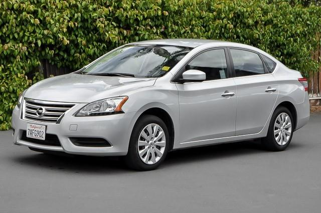 2013 NISSAN SENTRA S silver we finance everybody having trouble financing a car we guarantee 1