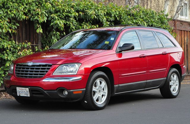 2005 CHRYSLER PACIFICA TOURING 4DR WAGON red we finance everybody  having trouble financing a ca