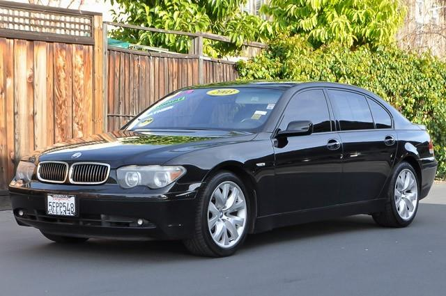 2003 BMW 7 SERIES 745LI 4DR SEDAN black we finance everybody  having trouble financing a car w