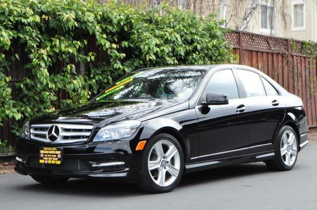 2011 MERCEDES-BENZ C-CLASS C300 SPORT 4DR SEDAN black thank you for visiting another one of los am