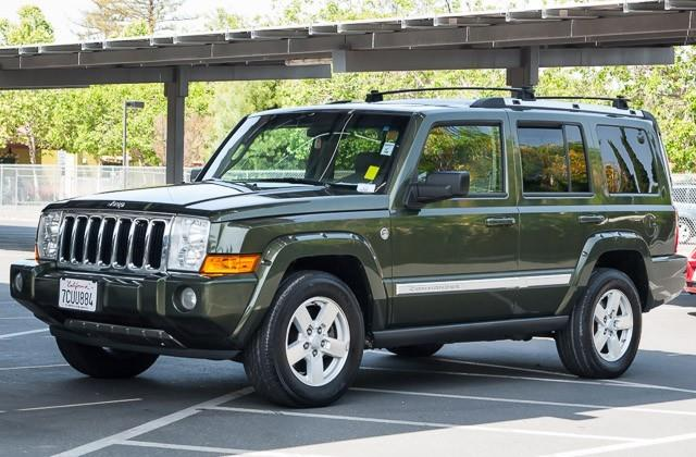 2006 JEEP COMMANDER LIMITED 4DR SUV 4WD green we finance everybody having trouble financing a ca