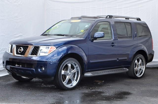 2006 NISSAN PATHFINDER LE 4DR SUV blue we finance everybody having trouble financing a car we