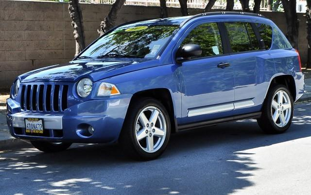 2007 JEEP COMPASS LIMITED 4DR SUV blue we finance everybody having trouble financing a car we