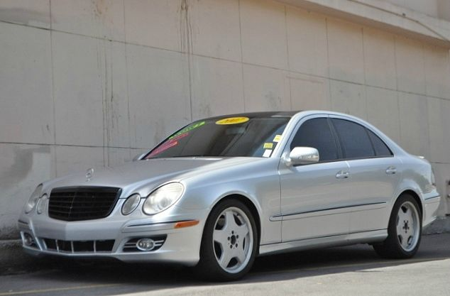 2007 MERCEDES-BENZ E-CLASS E350 4DR SEDAN silver we finance everybody  having trouble financing