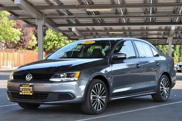 2011 VOLKSWAGEN JETTA SE PZEV 4DR SEDAN 6A W CONVENIE gray we finance everybody  having trouble