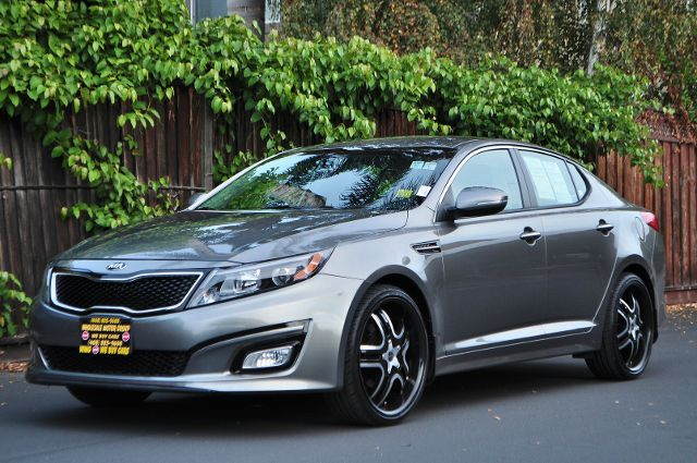 2014 KIA OPTIMA LX 4DR SEDAN silver we finance everybody  having trouble financing a car we gu